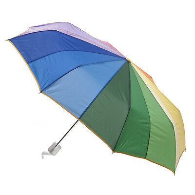 Clifton Rainbow Mini Maxi Folding Umbrella