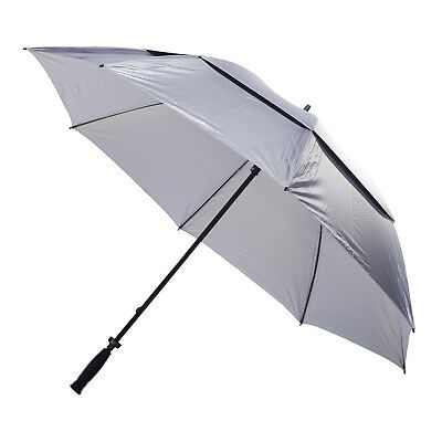 Clifton Windpro Vented Silver Coated Golf Umbrella - Silver Under
