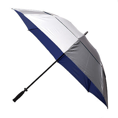 Clifton Windpro Vented Silver Coated Golf Umbrella - Navy Under