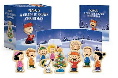 A Charlie Brown Christmas Wooden Collectible Set by Charles Schulz Book & Mercha