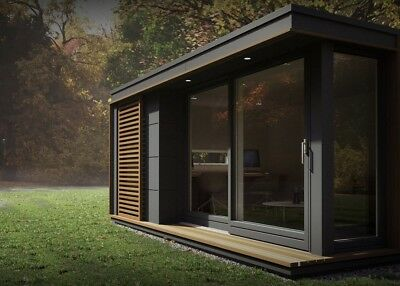 Converted Shipping Container Garden Room Prefab Modular Building- Bespoke Design