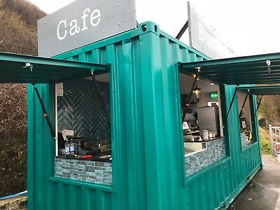 Converted Shipping Container Cafe / Bar / Coffee Shop - Bespoke Design