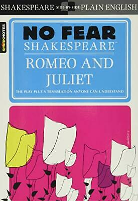 Romeo and Juliet (Sparknotes No Fear Shakespeare) by SparkNotes Paperback Book