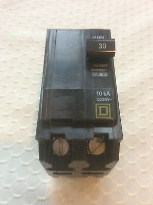 SQUARE D QO230 30 amp 2 pole Type QO Circuit Breaker