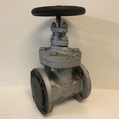 "New Old Stock Fairbanks 2-1/2"" 2.5"" Hand Wheel Gate Valve 125-S 200-Wog"