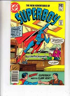New Adventures of Superboy # 15 Strict NM- 1st Superboy gets new parents