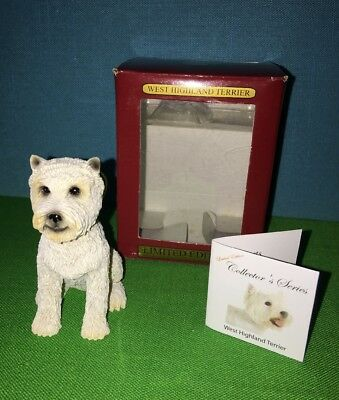 West Highland Terrier Dog Ornament Collector's Series ACA Christmas MIB Animal