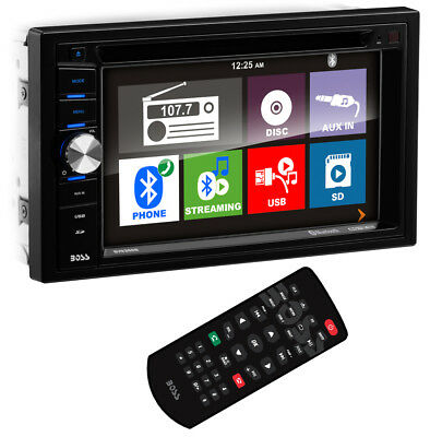 "New Boss BV9366B 6.2"" 2-DIN In-Dash DVD/MP3 Bluetooth Touchscreen Car Receiver"