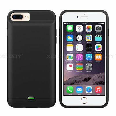 5000mAh Ultra-Thin Soft Battery External Power Bank Charger Case For iPhone 7 6s