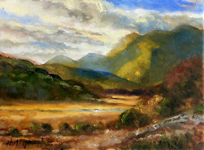 Ring of Kerry Ireland 9 x 12 in. Oil on canvas  HALL GROAT II