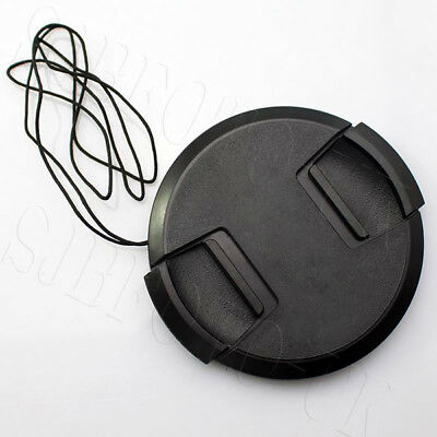 67 Mm Generic Sony Centre-Pinch Clip-On Front Lens Cap For Sel Lens