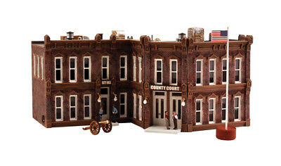 Woodland Scenics PF5209 N Scale County Courthouse Building Kit