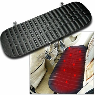 Zento Deals Car Rear Heating Seat Cushion 12V Plug Universal Pad Body Warmer