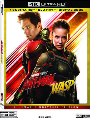Ant-Man and the Wasp [New 4K Ultra HD] With Blu-Ray, 4K Mastering, Ac-3/Dolby