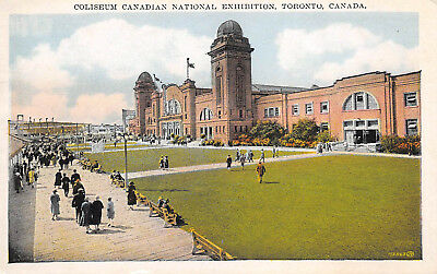 Toronto Canada c1920 Postcard Coliseum Canadian National Exhibition