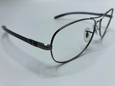 5791c350ca Ray Ban 59mm Sunglass Frames Carbon Fiber RB8301 029 98 3P Silver Gray