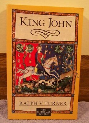 King John (The Medieval World) by Turner, R.V. Paperback Book The Cheap Fast