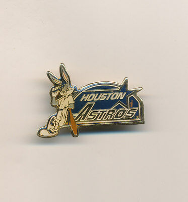 Bugs Bunny Looney Tunes Houston Astros MLB Baseball Pin