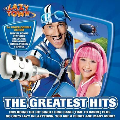 LazyTown - The Greatest Hits - LazyTown CD ZGVG The Cheap Fast Free Post The