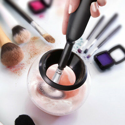 Professional Electric Makeup Brush Cleaner and Dryer Machine Cleans and Dries