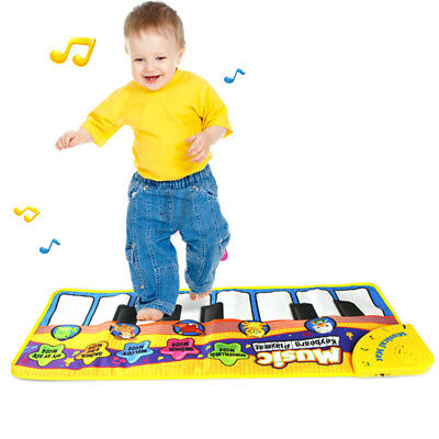 Musical Music Kid Piano Play Baby Mat Animal Educational Soft Kick Toy Gifts AU