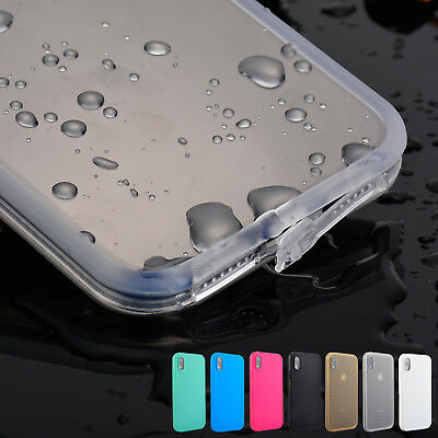 For iPhone X XS Max XR Waterproof Dustproof Shockproof Hybrid Rubber Case Cover