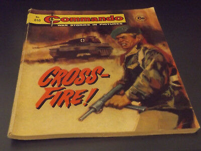 Commando War Comic Number 810!,1974 Issue,v Good For Age,44 Years Old,very Rare.