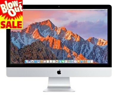 "Apple iMac 27"" Core i7-870 Quad-Core 2.93GHz All-in-One Computer 16GB 1TB HDD"
