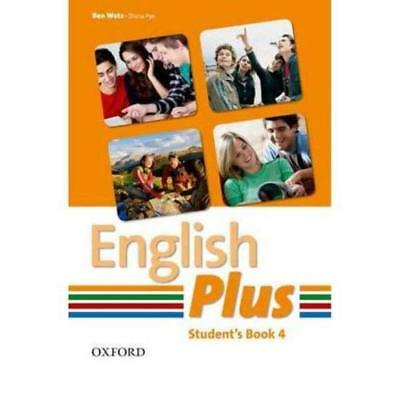 English Plus: 4: Student Book: An English secondary cou - Paperback NEW Ben Wetz