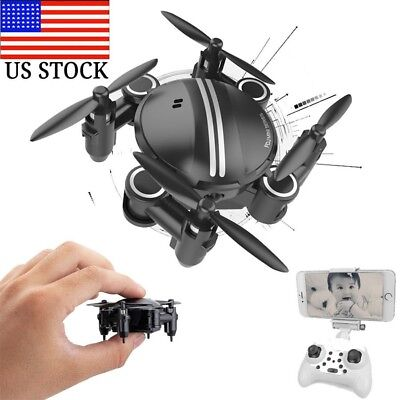 Mini RC Quadcopter 2.4GHz 4CH 6-Axis Gyro 3D UFO Drone FPV WIFI Nano Camera USA