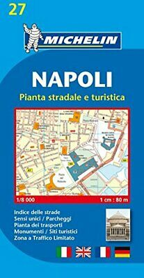 Napoli (Naples) - Michelin City Plans by Michelin Sheet map, folded Book The