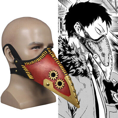 Anime Boku No My Hero Academia Overhaul Half Face Mask Cosplay Prop