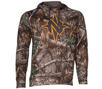 2cfe8b7776bf8 NEW 2018 NOMAD Southbounder Camo Logo Hoodie Realtree EDGE Hoody CHOOSE SIZE