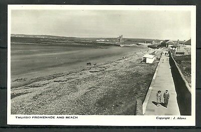Postcard :  Thurso Caithness the Promenade and Beach RP