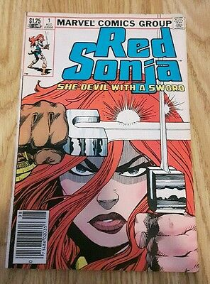 MARVEL RED SONJA 1,Vol.3, MARVEL COMICS,BRONZE AGE 9.0-VF,VERY RARE!