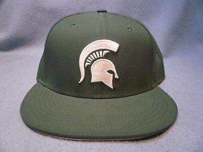 the latest bf5b2 bdadf Nike Michigan State Spartans True Vapor Fitted BRAND NEW hat cap MSU  Football