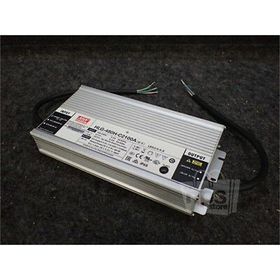Mean Well HLG-480H-C2100A LED Power Supply, 100-240/277VAC, 114-229VDC, 5.5/2A