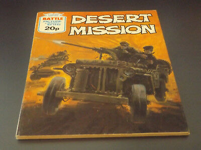 BATTLE PICTURE LIBRARY NO 1442,dated 1981!,V GOOD FOR AGE,VERY RARE,37 yrs old.