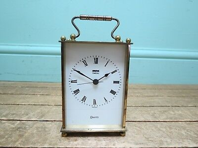 Vintage Smiths Timecal Brass Carriage Clock - Spares/Repairs