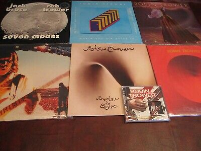 Robin Trower Audiophile 6 Vinyl Limited Editions + Comparison Sighs +Rare Cd Set