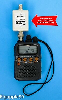 *MAGIC* HF Antenna Whip Transformer For AOR Icom Yaesu Yupiteru Scanner Receiver
