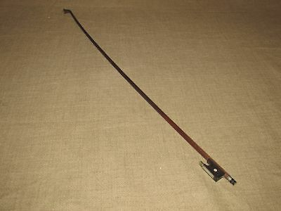 Vintage Violin Bow with Mother of Pearl Embellishments