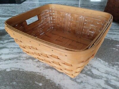 Longaberger Small Storage Solutions & protector Great Condition  FREE SHIPPING!
