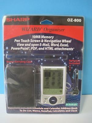Sharp Wizard Organizer OZ-800 Personal Digital Assistant New In The Package PDA