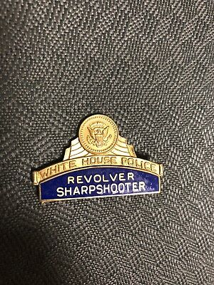 1922-1970 White House Police Revolver Sharpshooter Pin