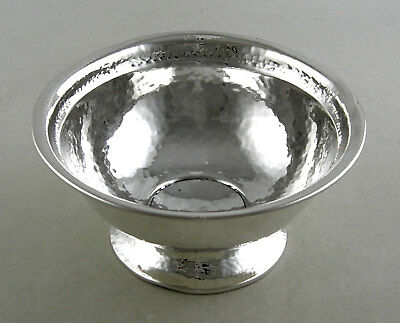 Sterling hand hammered candy/nut bowl by Barbour, CT
