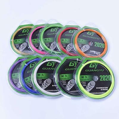 0.7mm Badminton Racket String High Repulsion Racquet Line for Replacement Line