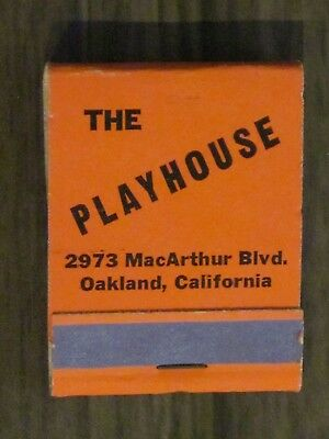 ****  The Playhouse Lounge Matchbook - Oakland, Calif.