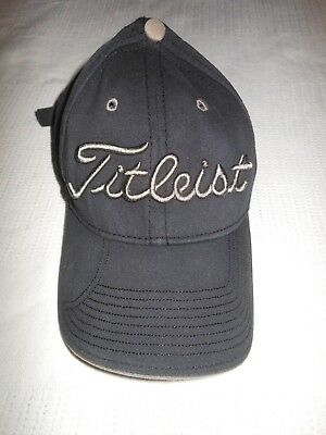 TITLEIST by New Era Golf Hat - Buckle Strapback Cap - Blue   Gray - 3D a703dc66db5