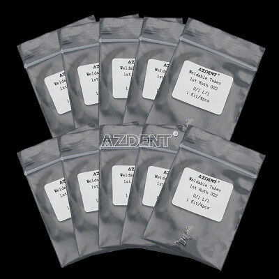 10 X Dental Orthodontic 1st Molar Roth 0.02 Weldable Non-Convertible Buccal Tube